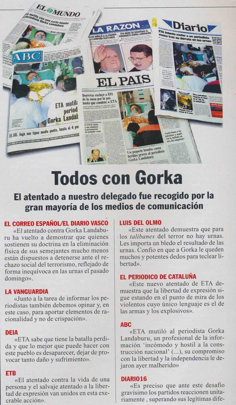 Todos con Gorka