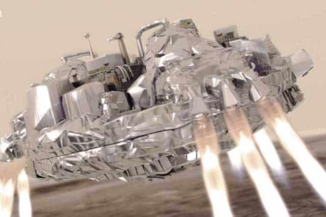 Científicos de la agencia están casi convencidos que la sonda se estrelló a gran velocidad