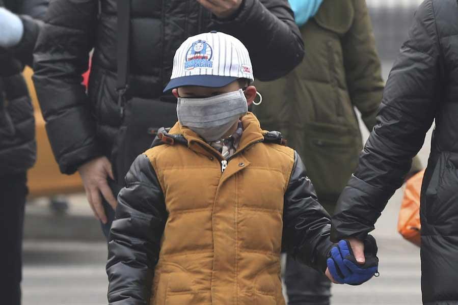 Contaminación China Niño