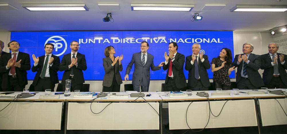 Reunión de la Junta Directiva del PP. FOTO: Flickr PP