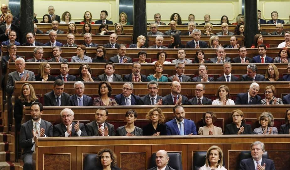 Grupo Parlamentario Socialista. FOTO: Flickr PSOE
