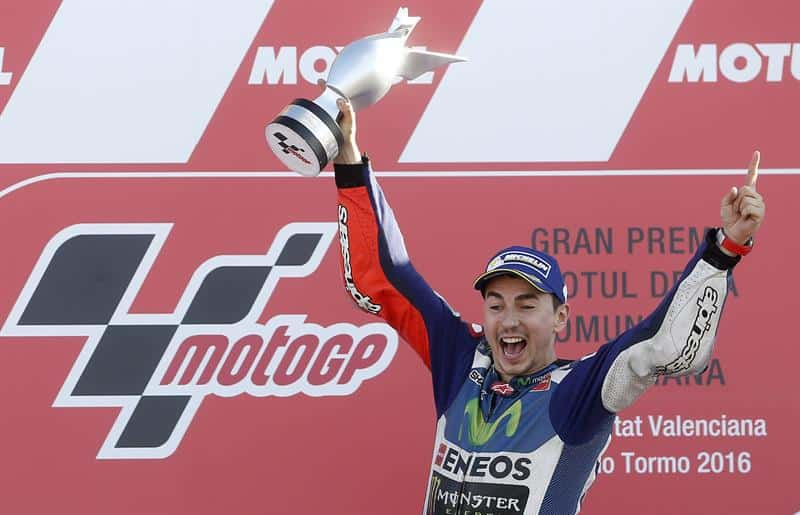 Jorge Lorenzo, Campeón GP Valencia