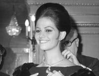 Claudia Cardinale en 1962 con joyas de Bulgari.