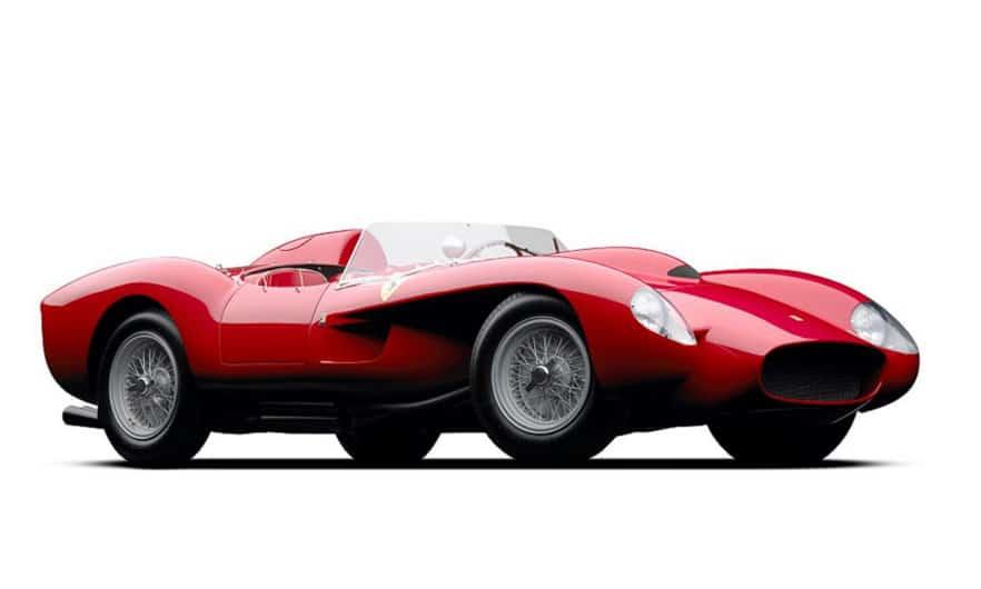 Ferrari 250 Testa Rossa de 1958. (Foto: Michael Furman/Forbes)