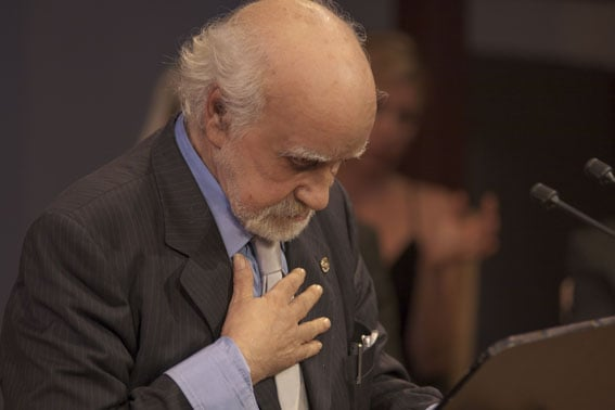 El autor Francisco Nieva. FOTO: Wikipedia