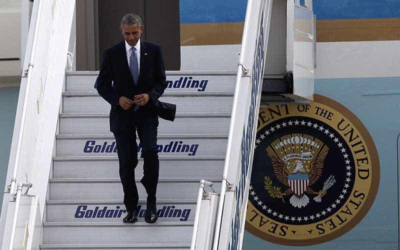 Obama en Grecia