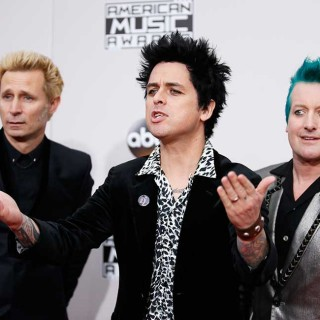 Green Day, en la Alfombra Roja de los American Music Awards