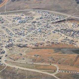 Manifestantes contra oleoducto en Dakota