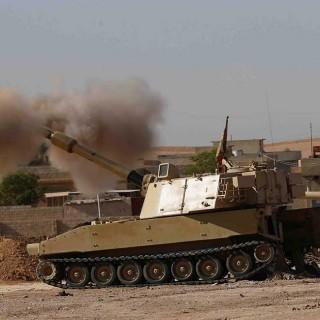 Batalla en Mosul. Irak