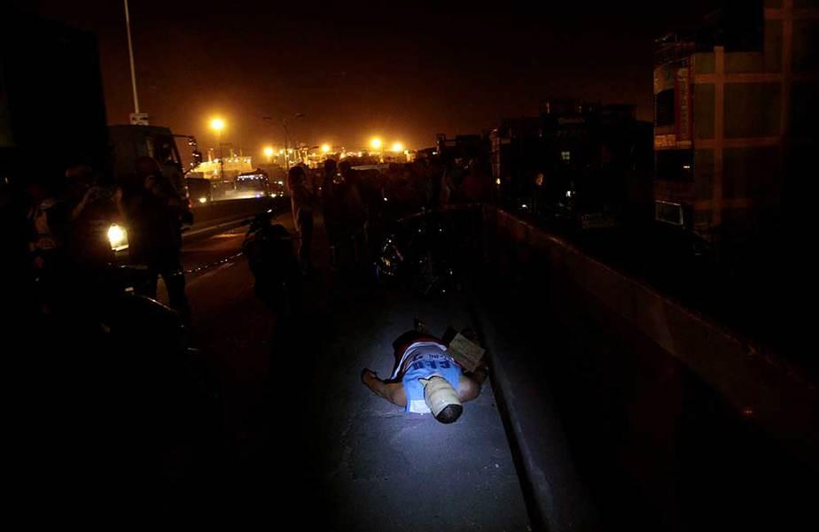Narcotraficante muerto en Manila