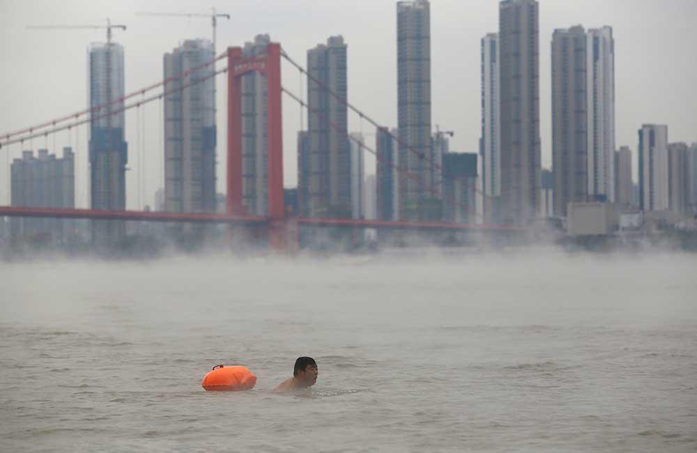 Frío en China