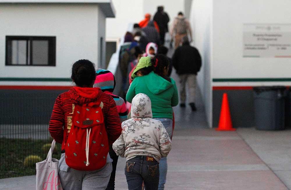 Nuevo cruce fronterizo de El Chaparral en Tijuana