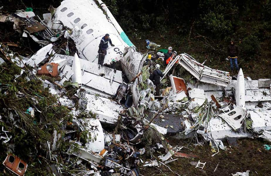 Accidente de avión Colombia