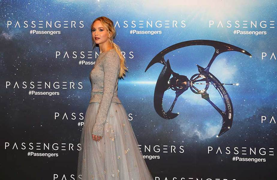 Jennifer Lawrence en París