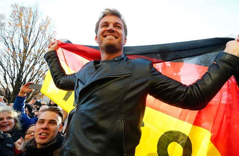 Nico Rosberg en su ciudad natal