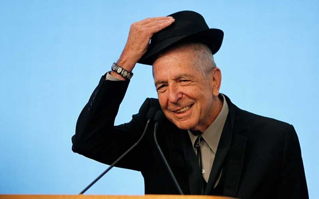Leonard Cohen muerte