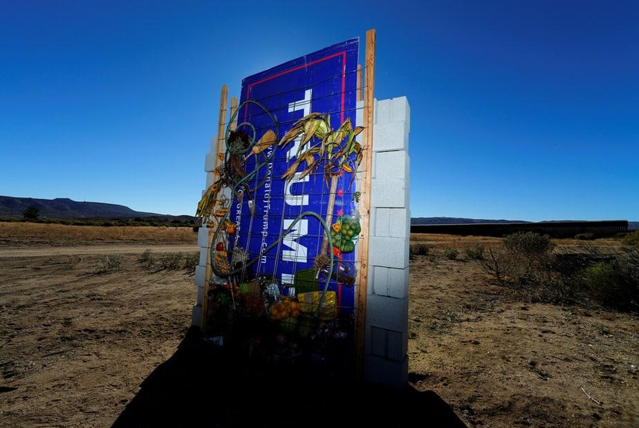 Muro en La frontera mexicana