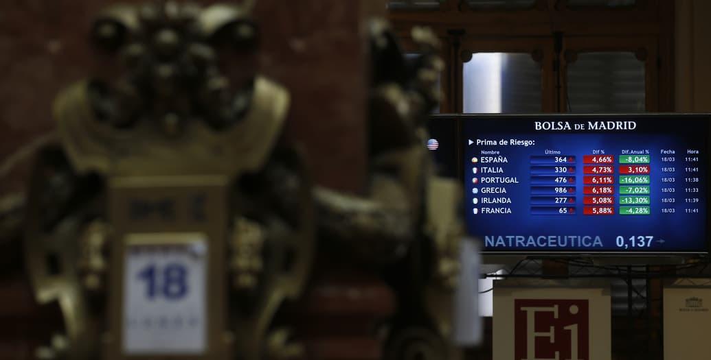 Bolsa de Madrid. FOTO: Reuters