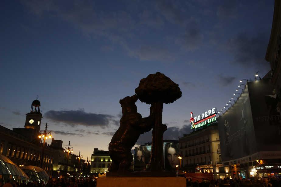 La Puerta del Sol de Madrid. FOTO: Reuters