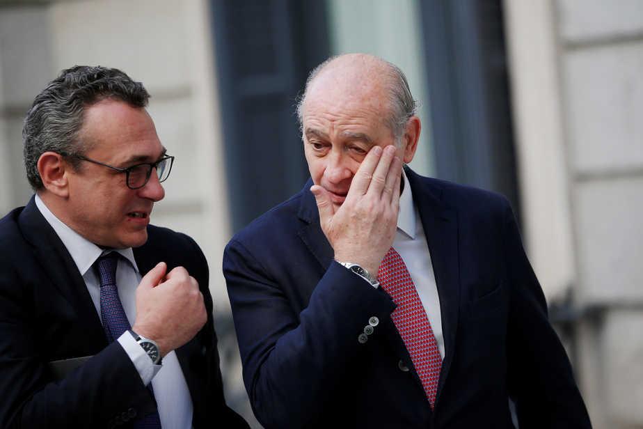 El exministro del Interior Jorge Fernández Díaz. FOTO: Reuters