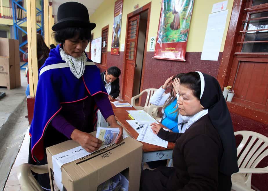 Referéndum colombiano del 3 de octubre de 2016.  FOTO: Reuters