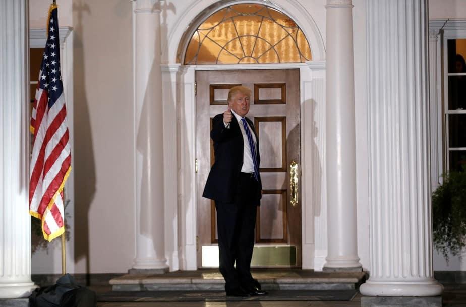 El presidente electo de EEUU Donald Trump.  FOTO: Reuters