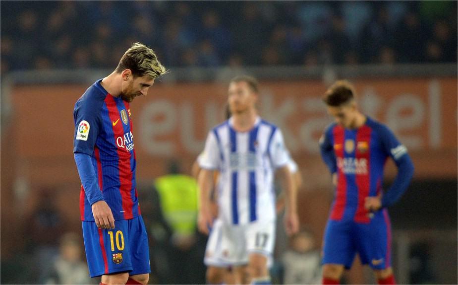 Lionel Messi Barcelona Real Sociedad 2016
