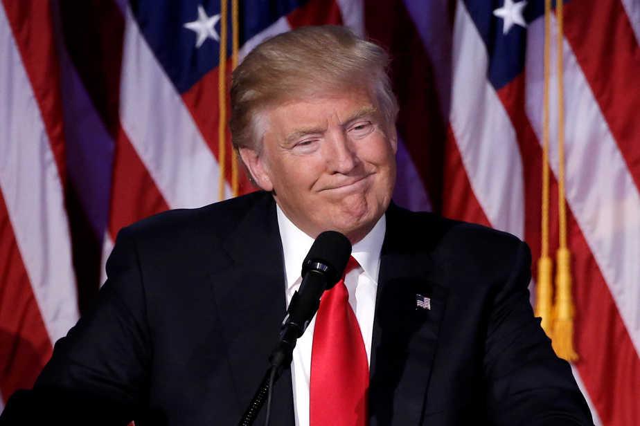 El presidente estadounidense electo, Donald Trump. FOTO: Reuters