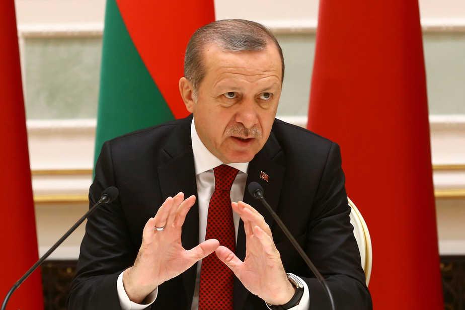 El presidente turco Recep Tayyip Erdogan. FOTO: Reuters
