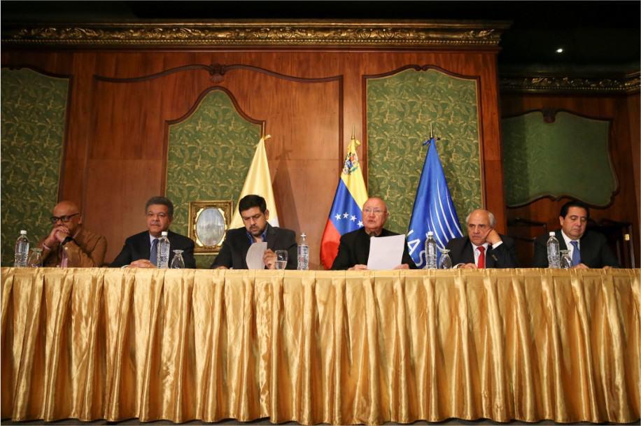 Diálogo Venezuela Gobierno Mud Oposición