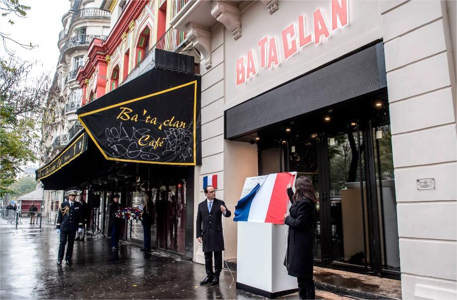 Bataclan Presidente de Francia Fracois Hollande