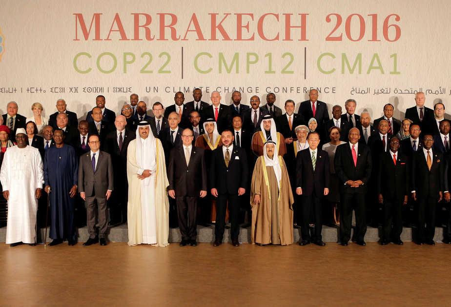 Participantes en la reunión de la Conferencia de la ONU sobre Cambio Climático en Marrakech COP22. FOTO: Reuters