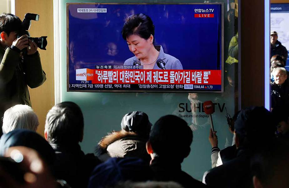Renuncia de presidenta de Corea del Sur Park Geun-hye