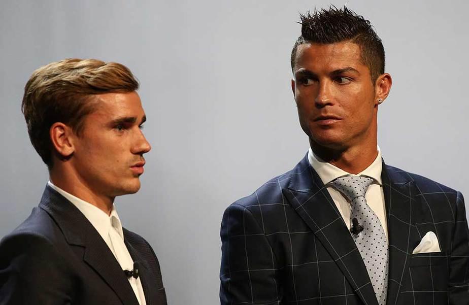 Cristiano Ronaldo y Antoine Griezzman