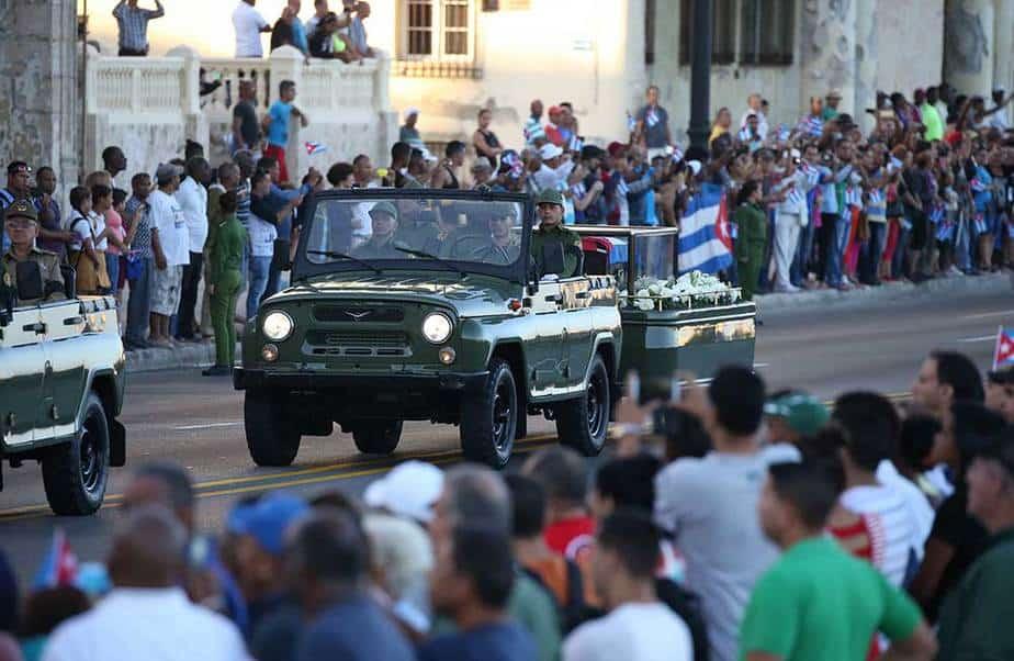 Caravana Fidel Castro