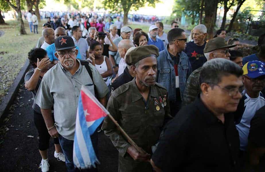 Cuba homenaje Fidel Castro