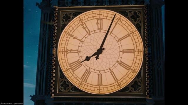 "El Big Ben, Londres, Inglatera / ""Peter Pan"""