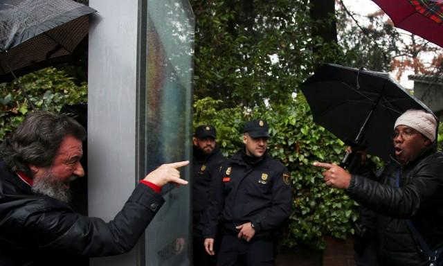 España manifestacines Fidel Castro. Reuters
