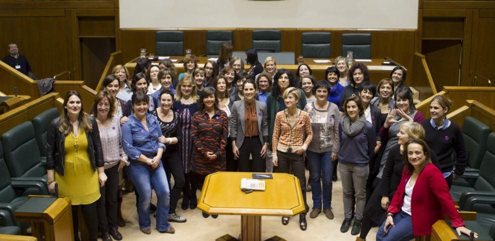 Parlamentarias del Parlamento vasco.