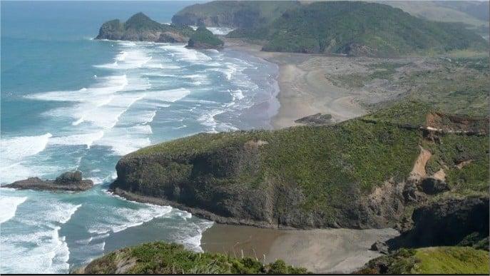 Costa este Nueva Zelanda