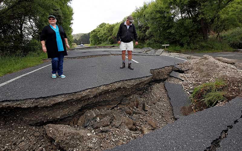 Daños terremoto Nueva Zelanda