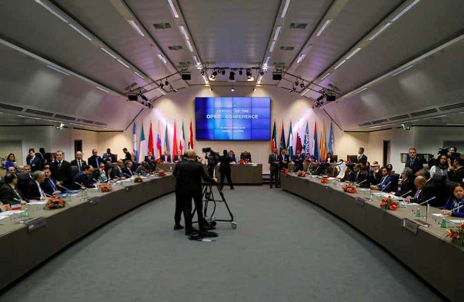 Reunión ministerial OPEP Viena
