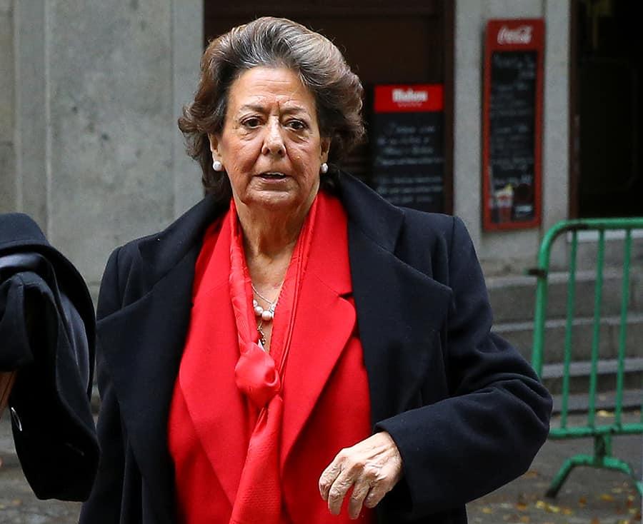 La exalcaldesa de Valencia y senadora Rita Barberá. Fallecida este miércoles un un paro cardíaco FOTO: Reuters