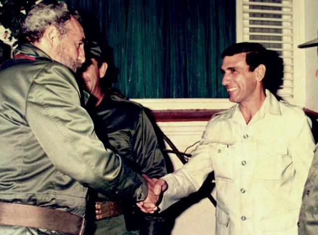 Fidel Castro y Juan Reinaldo Sánchez, una de las fotos públicas más conocidas
