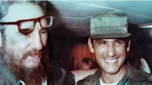 Fidel Castro y Juan Reinaldo Sánchez