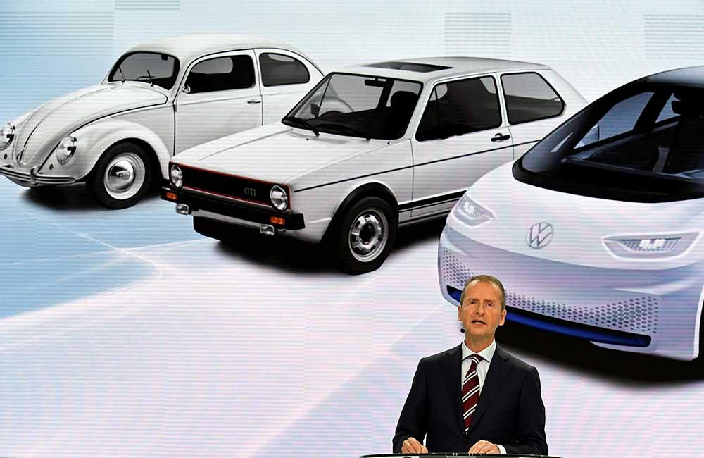 El presidente de Volkswagen, Herbert Diess