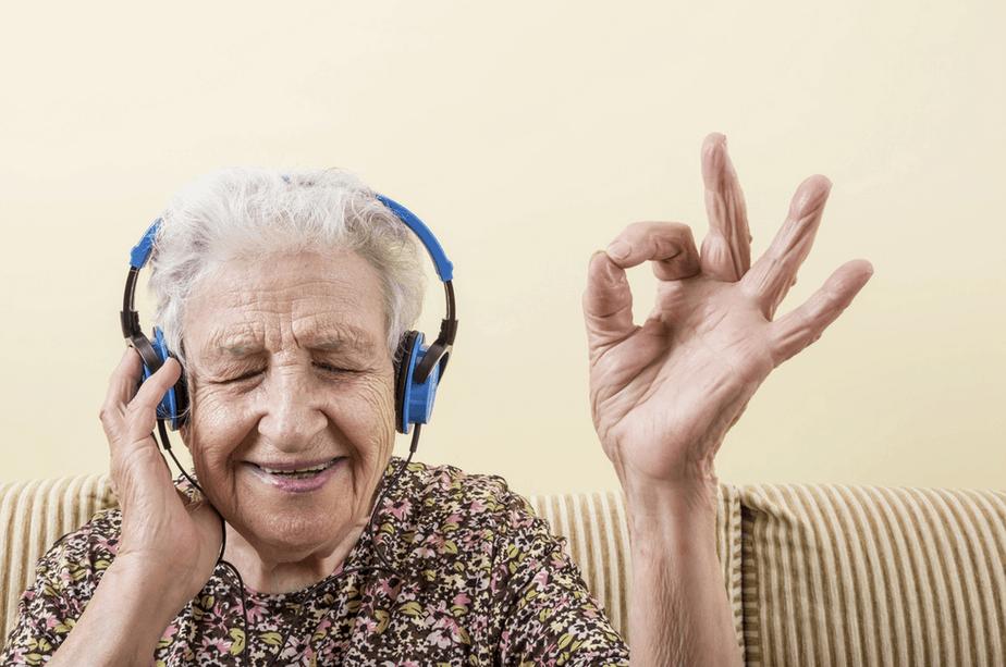 Adultos mayores música