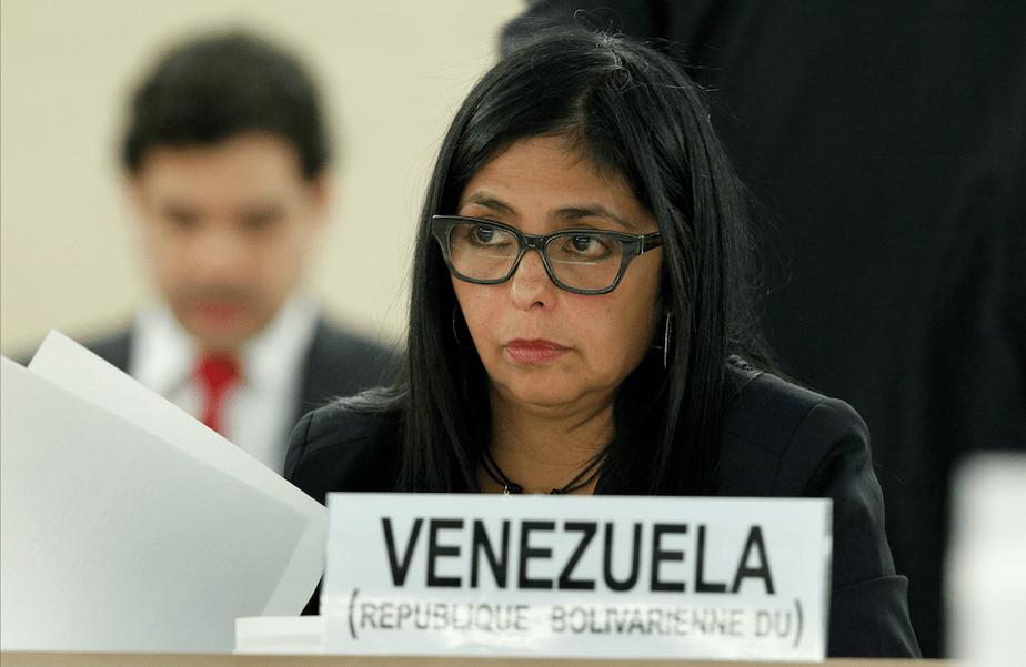 Delcy Rodríguez, Canciller Venezuela