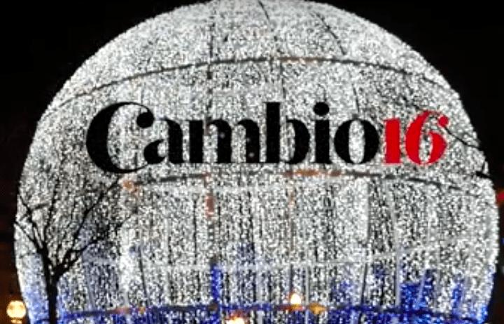 Felicitación navideña Cambio16.