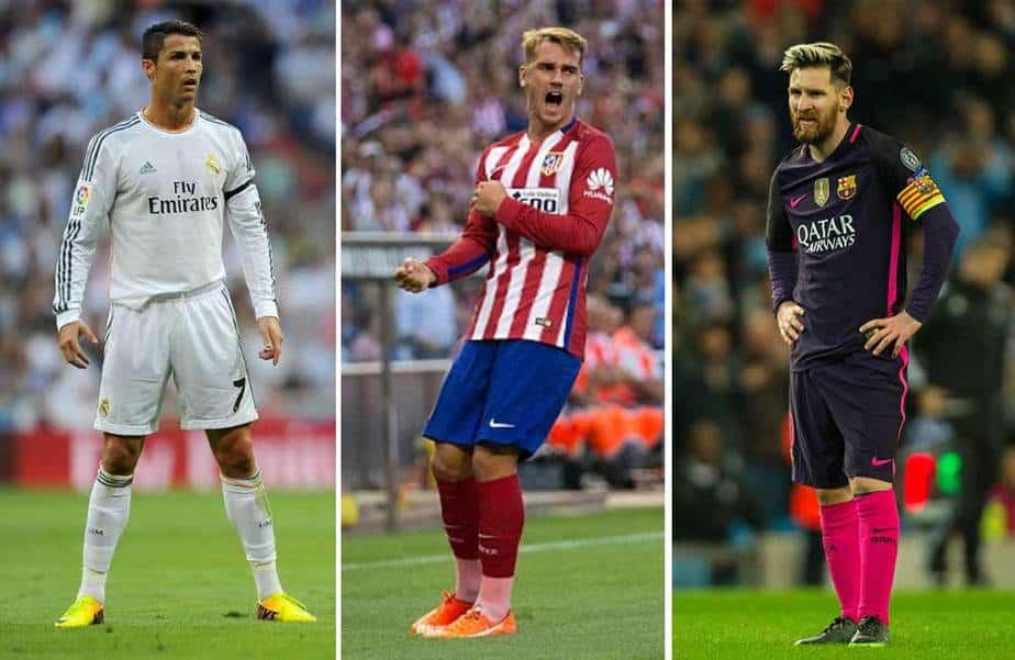 Griezzamann Messi, Cristiano